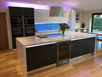 A luxury first floor and single rear building extension in Surrey